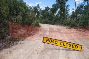 Going Green Road Closed   Last Xplorer