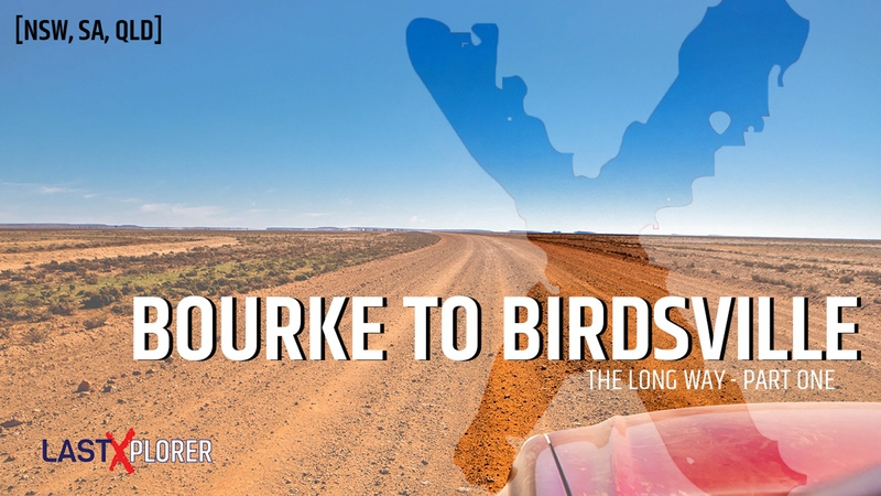 Bourke to Birdsville Cover